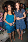 Ragini Bajaj with Amisha Patel at party launch of Nail spa held on 15th Oct, 2008 at Kino s cottage, Andheri