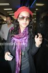 Beautiful Latin Actress Barbara Mori in Mumbai airport