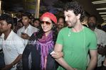 Beautiful Latin Actress Barbara Mori in Mumbai airport (1)