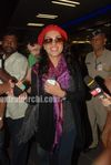 Beautiful Latin Actress Barbara Mori in Mumbai airport (4)