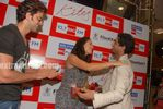 Beautiful Latin Actress Barbara Mori with Hrithik Roshan at Mumbai BIG FM Radio Studios (10)