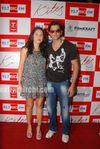 Beautiful Latin Actress Barbara Mori with Hrithik Roshan at Mumbai BIG FM Radio Studios (11)