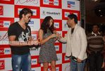 Beautiful Latin Actress Barbara Mori with Hrithik Roshan at Mumbai BIG FM Radio Studios (13)