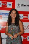 Beautiful Latin Actress Barbara Mori with Hrithik Roshan at Mumbai BIG FM Radio Studios (4)