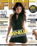 Genelia On Cover Of FHM Magazine