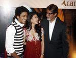 Ritesh Deshmukh, Jacqueline Fernandez, Amitabh Bachchan at Godrej Diwali Winner Contest,