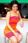 Famous TV host Mandira Bedi at Baliey's brunch party
