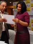 Actress Vidya Balan at a function