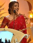 Actress Vidya Balan at a function