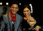 Deepika Padukone with SRK