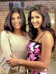 Actress Katrina Kaif with Susmitha Sen