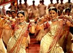 Madhuri Dixit and Aishwarya Rai in Devdas movie -  Most Beautiful Indian Actress
