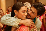 Actress Rani Mukherjee with SRK