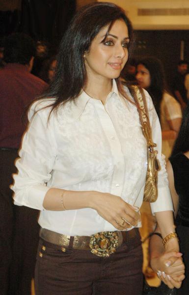 sridevi. Actress Sridevi
