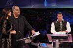 Sridevi, Boney Kapoor with Salman Khan on Dus ka Dum