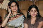 Actress Sridevi with daughter Jhanavi Kapoor