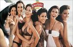 2008 Kingfisher swimsuit calendar launch
