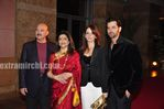 Hrithik  family at Anil Ambani big pictures party in Mumbai