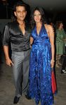 Ravi Kishan, Brinda Parekh at Birthday Party, V Lounge, Juhu, Mumbai, 3rd November, 2009