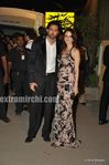 hrithik with wife sazan at the Filmfare Awards 2010