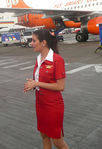 Gorgeous Kingfisher Air hostess