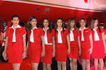 Gorgeous Kingfisher Air hostess photos
