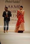 Designer Abdul Halder show at Lakme India Fashion Week 2010 (at LIFW Day 2)