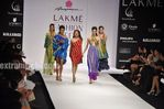 models at Lakme India Fashion Week 2010