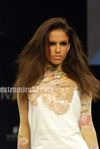 cell design -  Models at Lakme India Fashion Week 2010