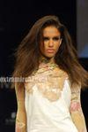 cell design -  Models at Lakme India Fashion Week 2010