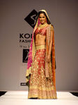 Sameera Reddy walking the ramp for Neeta Lulla at Kolkata Fashion Week 2 Neeta Lulla show pics