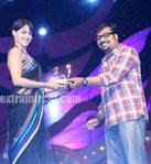 Rising Star Award to Actress Genelia D souza by Anurag Kashyap