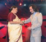 Woman of Steel Award was presented to Social Worker Flavia Agnes by Saif Ali Khan