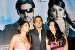 Shweta Bharadwaj , Zayed Khan, Shriya Saran at Mission Istanbul Press Meet in Intercontinental on July 19th 2008