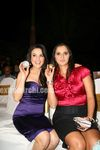 Preity Zinta and Sania Mirza at Sports Illustrated Awards
