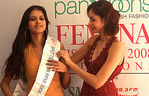 Tanvi Vyas - Pantaloons Femina Miss India Earth 2008