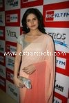 Zarine Khan at Big FM Studios promoting movie Veer (2)