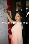 Zarine Khan at Big FM Studios promoting movie Veer (9)