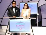 Madhavan and Dia Mirza at Pantaloons Femina Miss India 2008