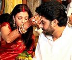 Aishwarya Rai Abhishek Bachan Wedding Photos,who got married on 20th April 2007 (4)