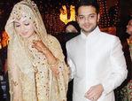 Ayesha Takia and Farhan Azmi wedding reception pictures (2)