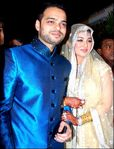 Ayesha Takia and Farhan Azmi wedding reception pictures (3)