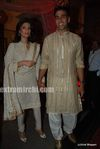 Akshay kumar with wife Twinkle Khanna at DR PK Aggarwal s daughter s wedding