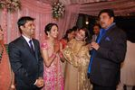 Shatrughan Sinha with the newly weds