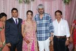 Vikram Bhatt blessing the couple