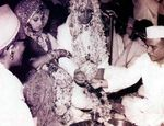 Dimple Kapadia and Rajesh Khanna wedding