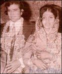 Dimple Kapadia and Rajesh Khanna wedding (1)