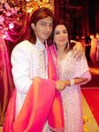 Bollywood choreographer Farah Khan   director Shirish Kunder wedding photo