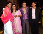 Bollywood choreographer Farah Khan   director Shirish Kunder wedding photo (2)