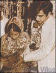 Wedding picture of Jeetendra to Shobha Kapoor pictures
